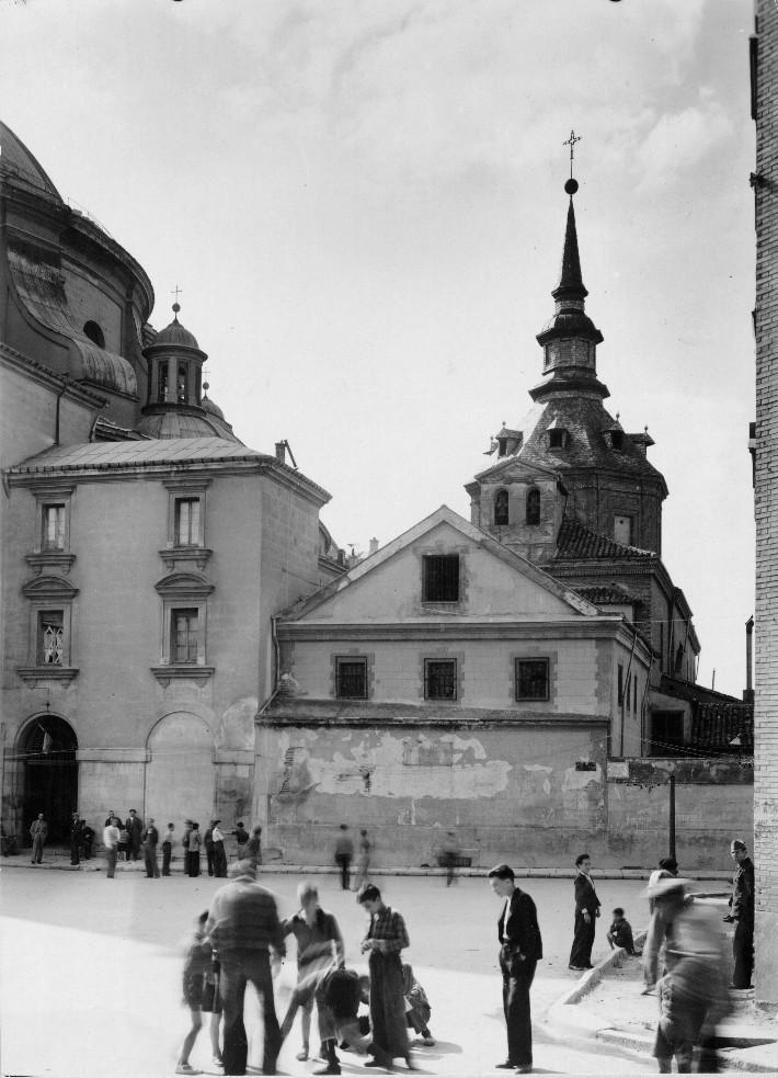 Capilla de la Orden Tercera - Archivo: INFORMACIÓN ARTÍSTICA - JUNTA TESORO 1937 - Fuente: IPCE