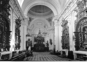 Interior de la Capilla - Archivo: INFORMACIÓN ARTÍSTICA - JUNTA TESORO 1937 - Fuente: IPCE