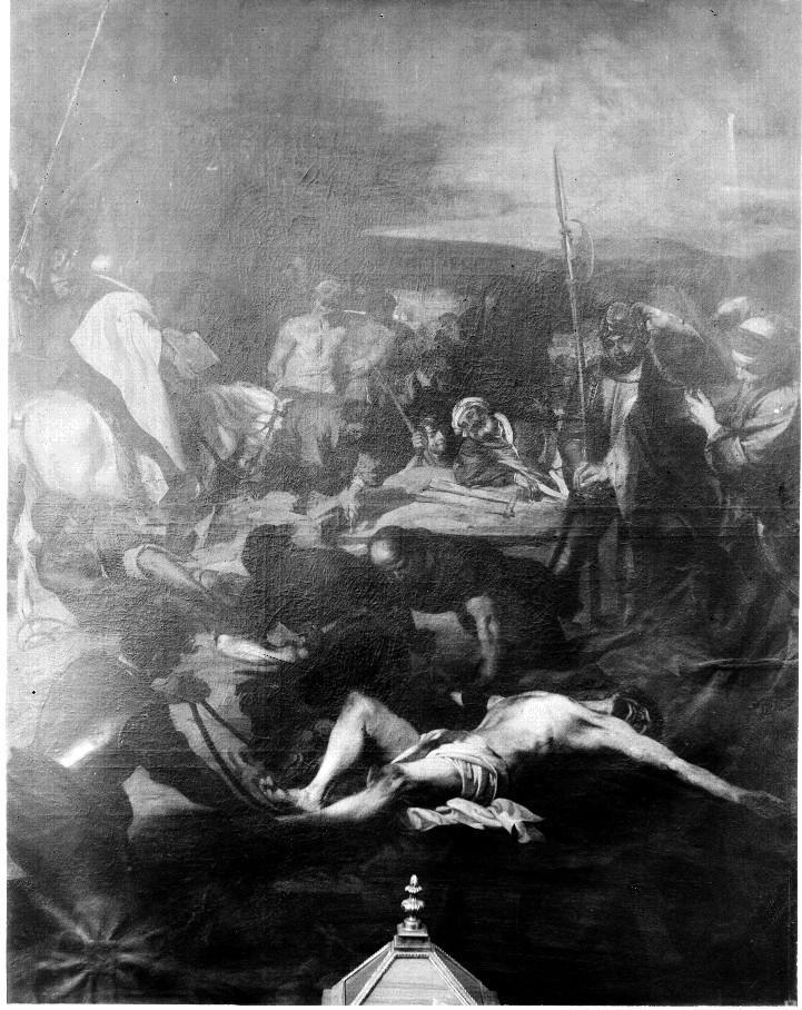 La Crucifixión - Autor foto: Mariano Moreno. Archivo - Moreno 1916. Fuente: IPCE