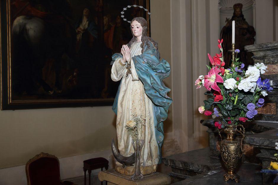 La Inmaculada, patrona del moviento franciscano