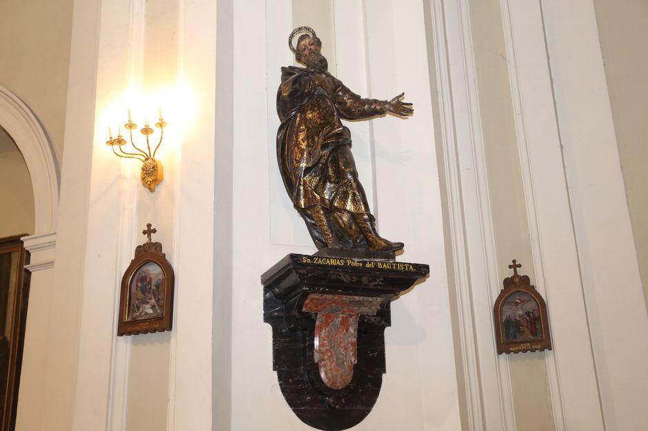 San Zacarías, Padre del Bautista
