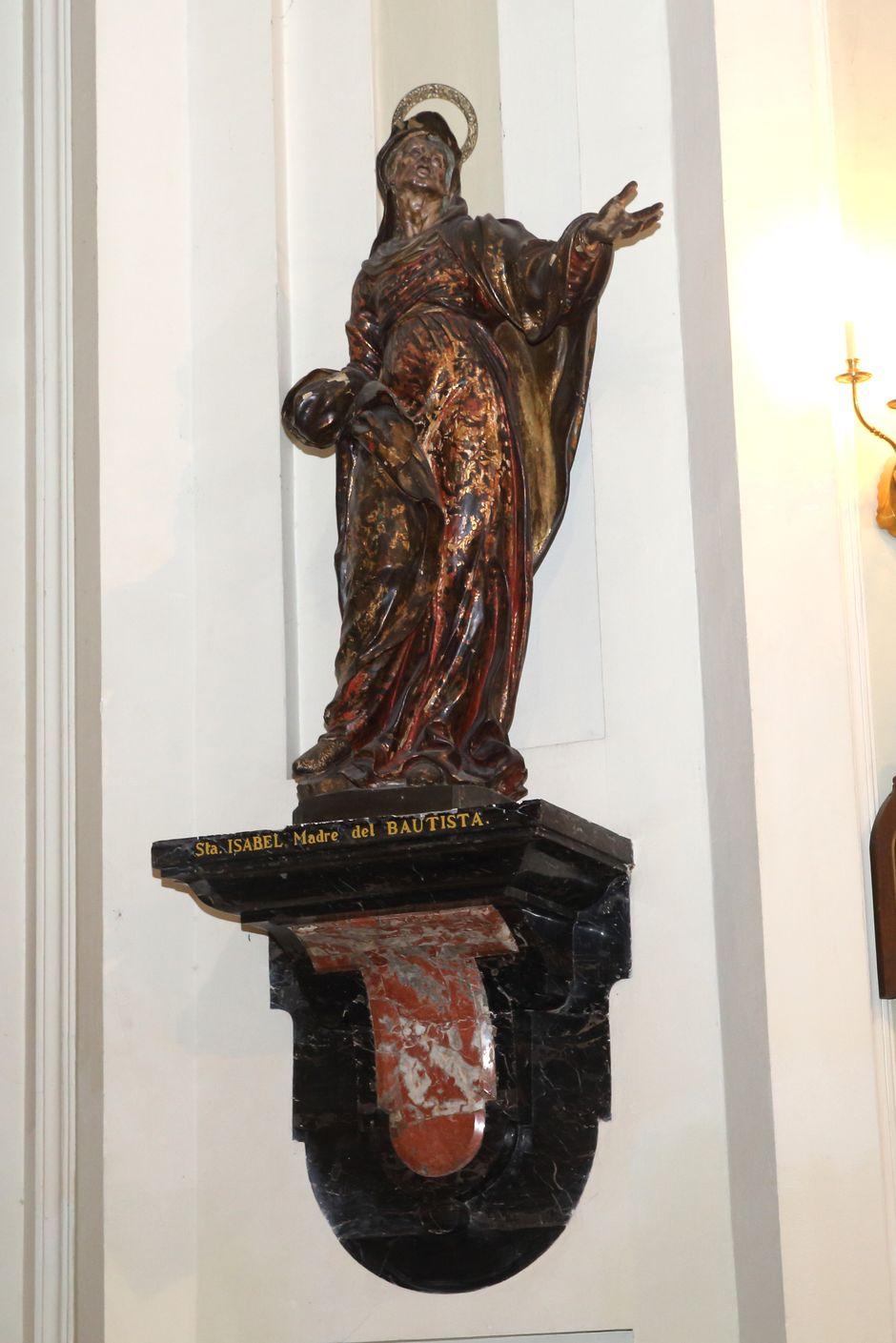 Santa Isabel, Madre del Bautista